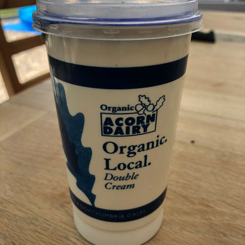 Acorn Dairy Double Cream 10oz. - HGFD Produce