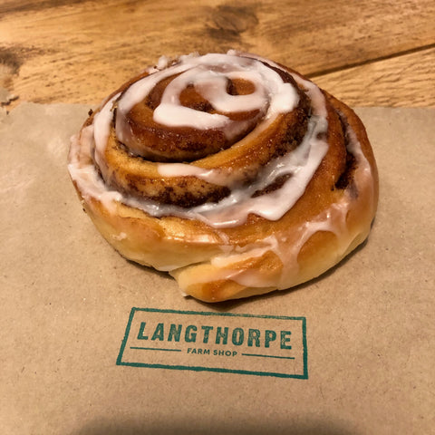 Cinnamon Roll - Langthorpe Farm Shop