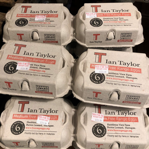 Ian Taylor Free range eggs - Large - Langthorpe Farm Shop