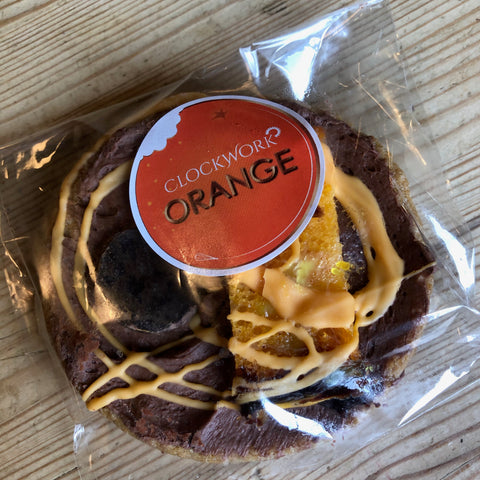 Clockwork Orange Cookie - Harrogate Cookie Co.