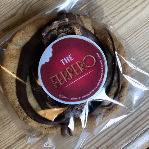The Ferrero Cookie - Harrogate Cookie Co.