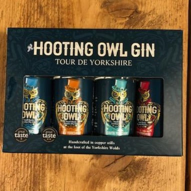 Hooting Owl 4 x 20cl Bottles Gift Pack