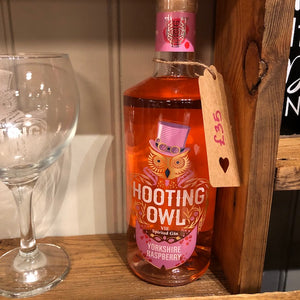 Hooting Owl Yorkshire Raspberry 70cl Bottle
