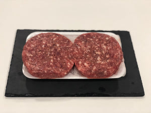 R&J 4 x 6oz Beef Steak Burgers - HGFD Produce