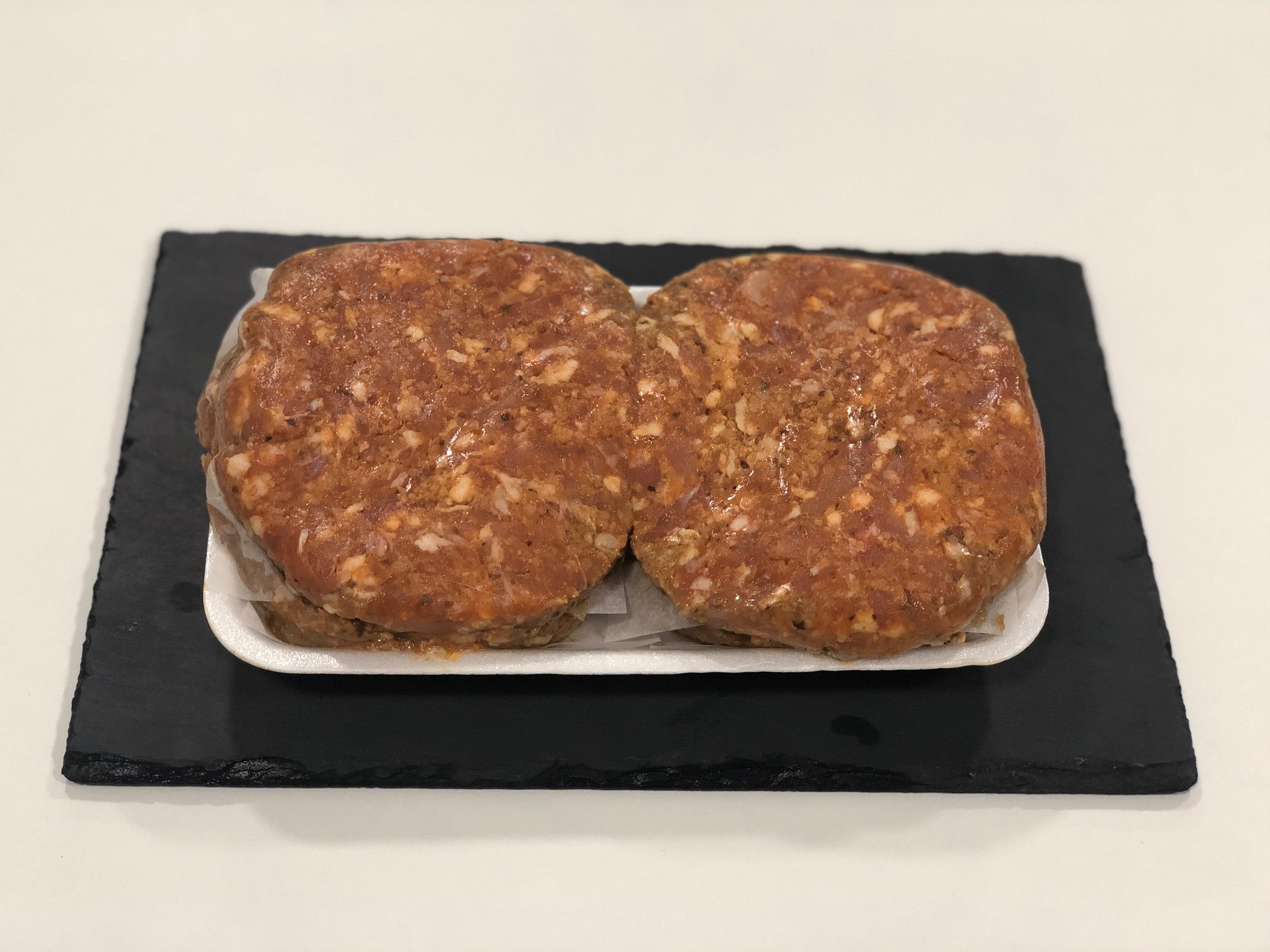R&J 4 x 8oz Lamb and mint burgers - HGFD Produce