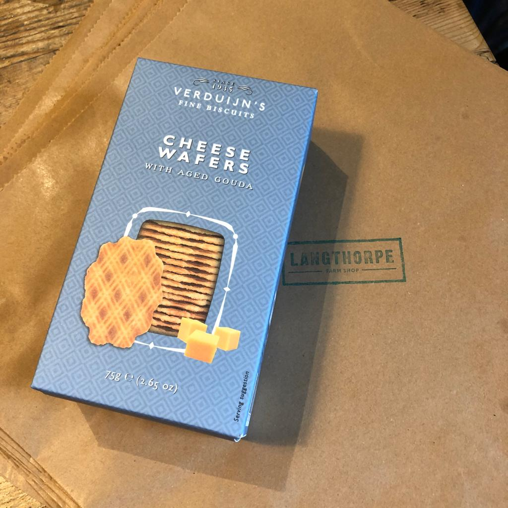 Verduijn's Cheese Wafers Gouda