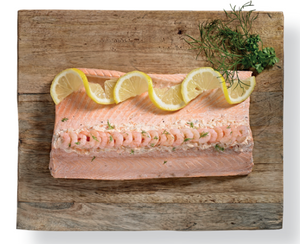 Poached Fillet of Salmon - Ramus Seafoods