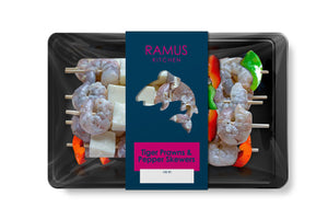 Tiger Prawn and Pepper Skewers - Ramus Seafoods