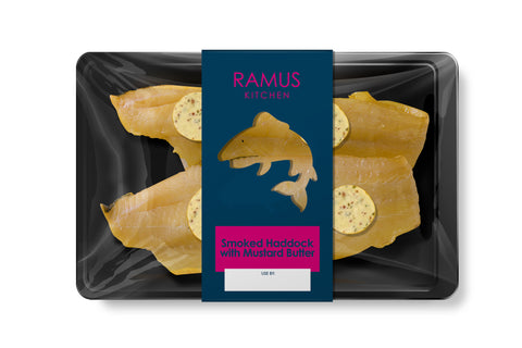 Smoked Haddock with Mustard Butter - Ramus Seafoods