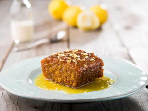 Lemon Pudding With Tangy Lemon Sauce