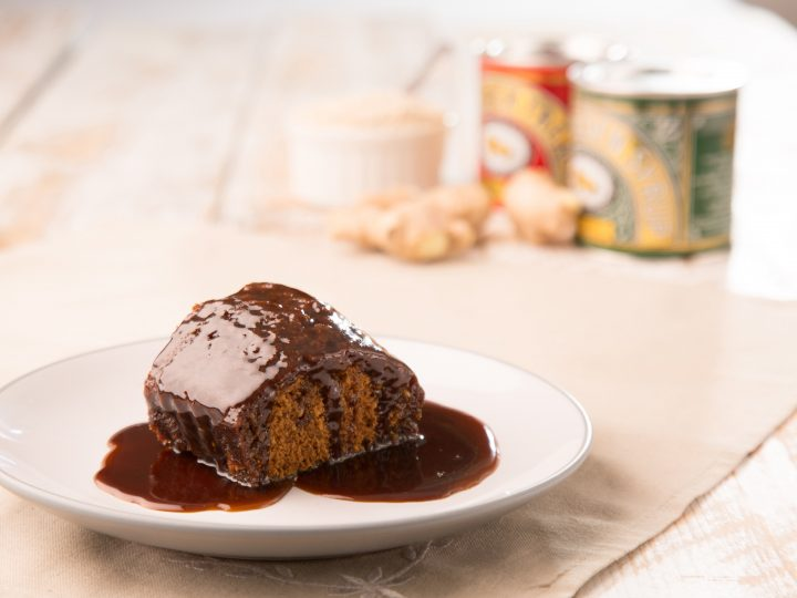 Treacle Parkin Pudding with Treacle Sauce