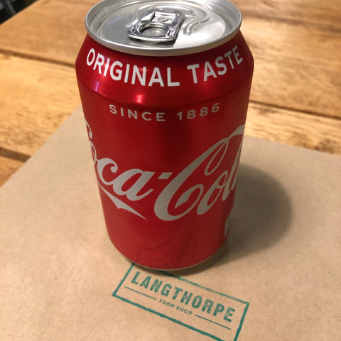 Coke 330ml Can - Langthorpe Farm Shop