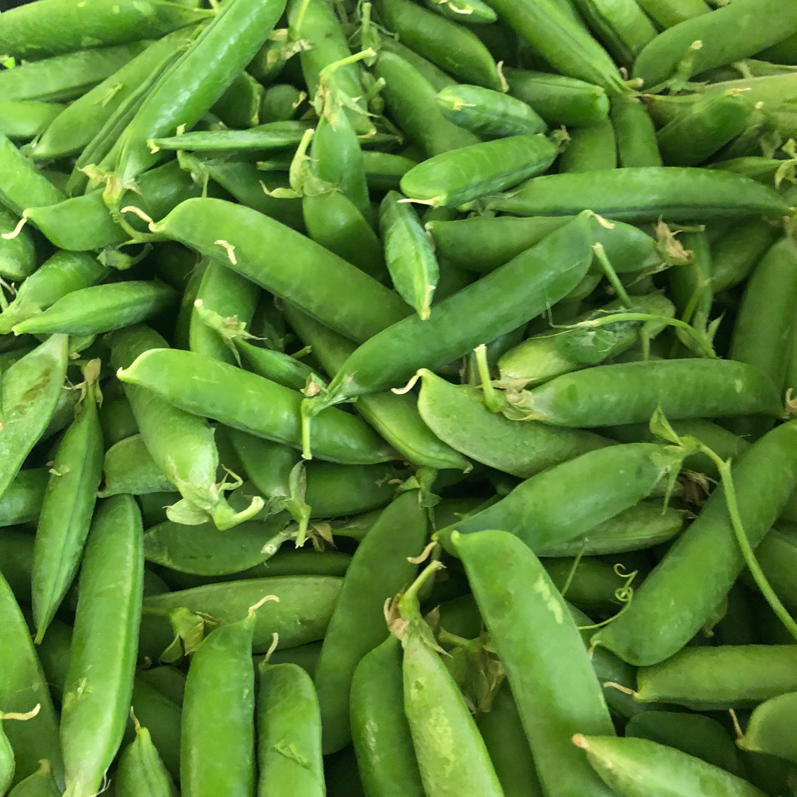 Fresh Yorkshire peas in pods 500g - HGFD Produce