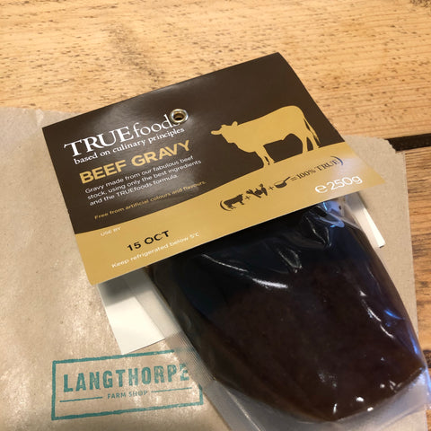 Beef Gravy - True Foods 250g