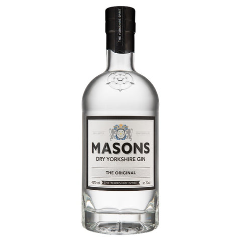 Masons Dry Yorkshire Gin 70cl - HGFD Produce