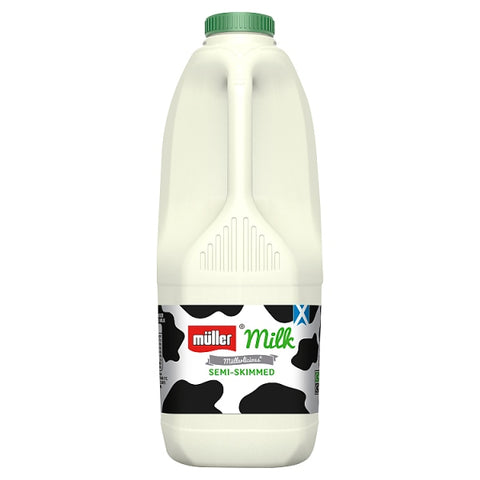 Semi Skimmed Milk 2 Litre - Langthorpe Farm Shop