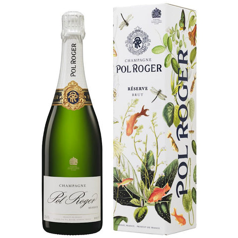 Pol Roger Champagne & Oysters