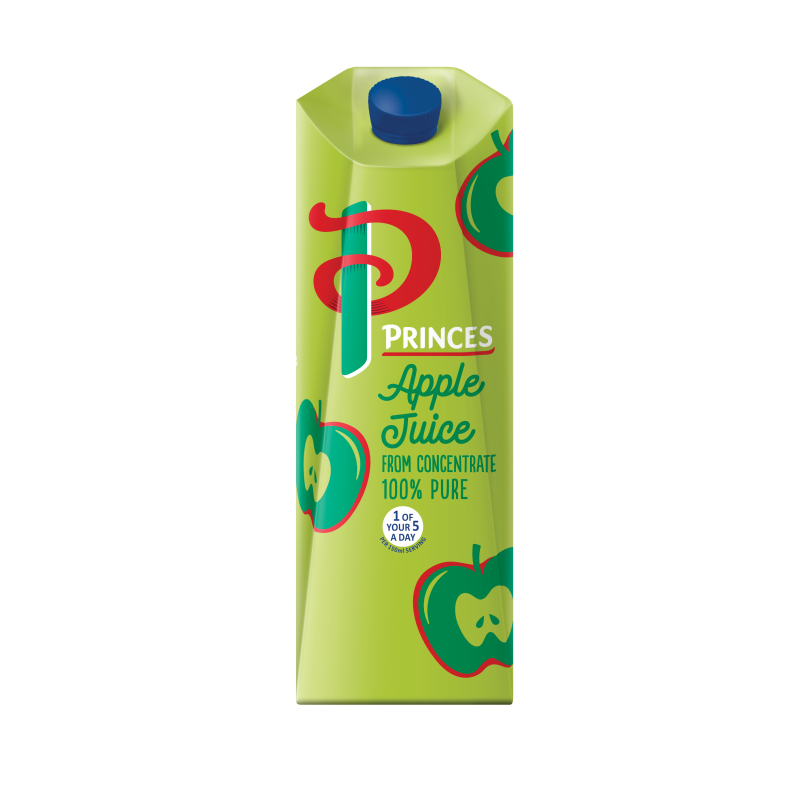 Apple Juice Carton 1 litre