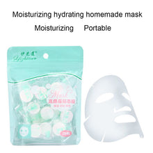 Load image into Gallery viewer, 20PCS/Set Disposable Wrapped Masks Women Girls Facial Cotton Portable Compressed Mask Sheets Tablets for DIY Skin Care