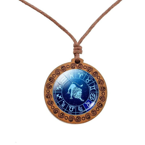 COLLIER ASTROLOGIE LION - Zodiaque Shop
