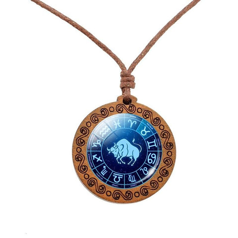 COLLIER ASTROLOGIE TAUREAU - Zodiaque Shop