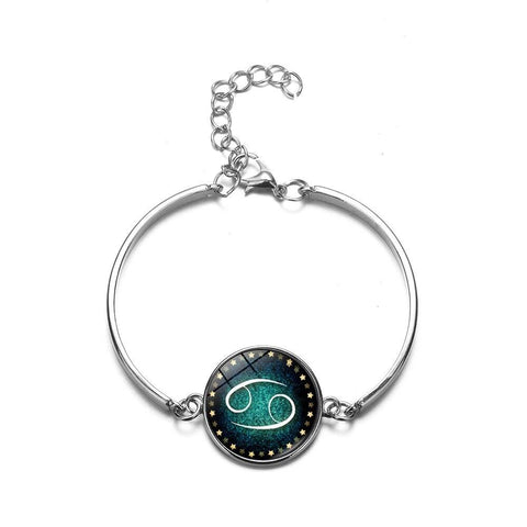 BRACELET CANCER SIGNE ASTROLOGIQUE - Zodiaque Shop