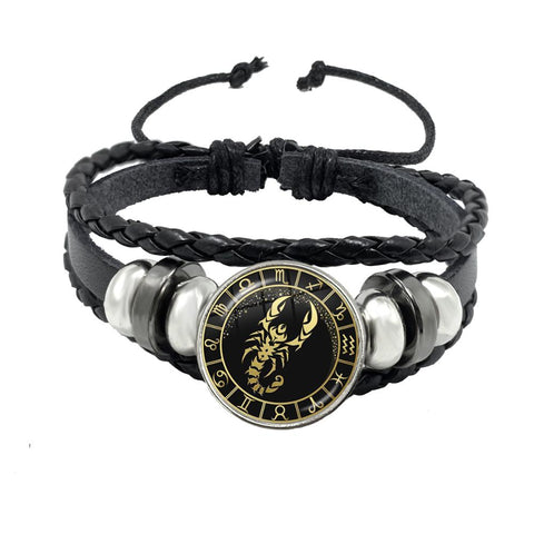 BRACELET HOMME SCORPION - Zodiaque Shop