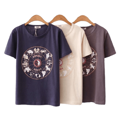 T-SHIRT SIGNE ASTROLOGIQUE - Zodiaque Shop