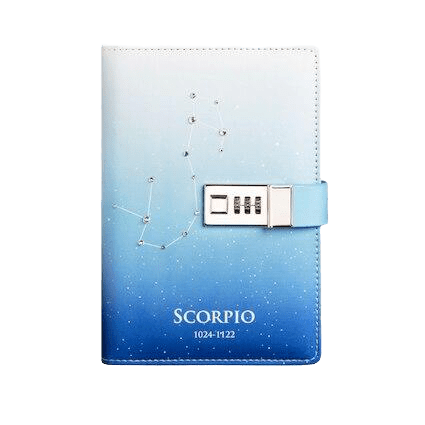 LIVRE SCORPION<br /> JOURNAL INTIME - Zodiaque Shop