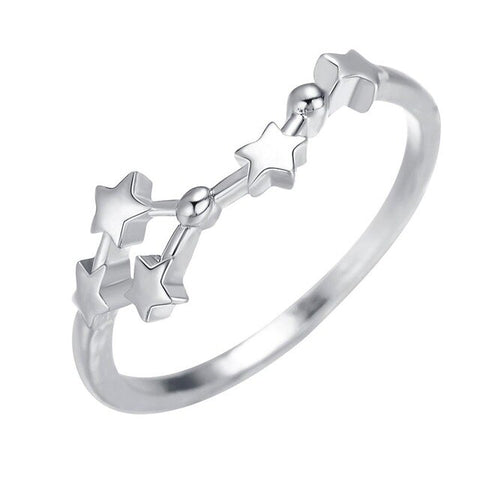 BAGUE CONSTELLATION CANCER - Zodiaque Shop