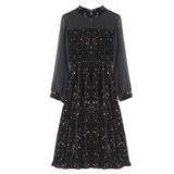 ROBE NOIRE CONSTELLATION - Zodiaque Shop
