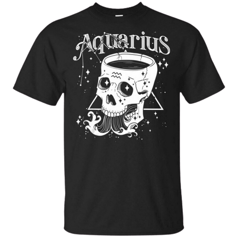 TEE SHIRT SIGNE ASTROLOGIQUE VERSEAU - Zodiaque Shop