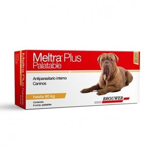 Meltra Plus® Desparasitante Oral (Hasta 60kg)