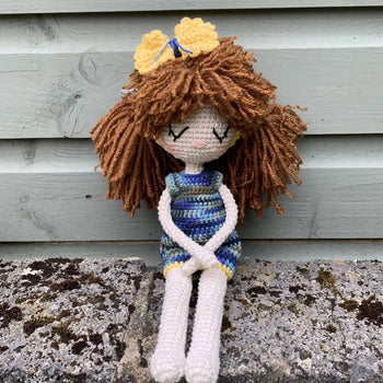 Tina - Amigurumi Crochet Doll Toy