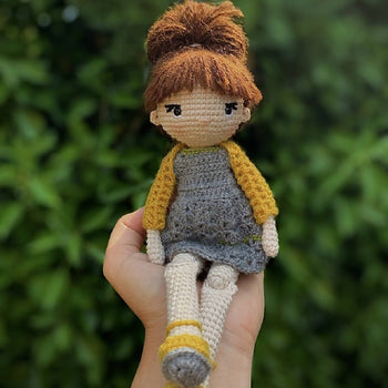 Tosia - Amigurumi Crochet Toy Doll
