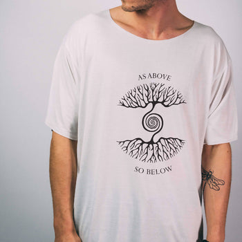 As Above So Below ~ 100% Organic Bamboo Tshirt