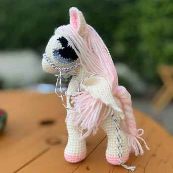 Pegasus, Pony, Horse - Amigurumi Crochet Toy, Baby shower