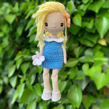 Amanda - Amigurumi Crochet Doll Toy, Baby shower Gift