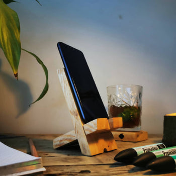 Reclaimed Phone stand