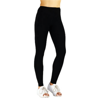 Cotton Candy Running Tights Black