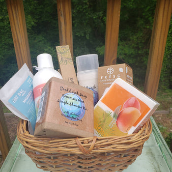 Eco Wonders Blissful Bath Basket