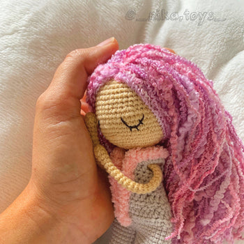 Summer - Amigurumi Crochet Doll Toy, Baby shower gift