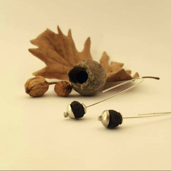 Handmade, Eco-friendly Earrings & Necklace