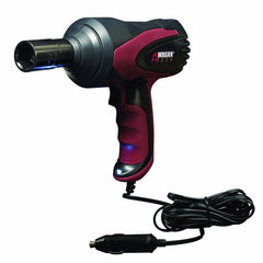 "Premium 1/2"" Electric Impact Wrench Gun Kit 12V with Sockets and Case Power Tool"
