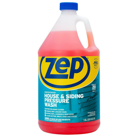 NEW ZEP House Siding Pressure Wash Concentrate Cleaner 1 gal for Wood Vinyl Alum