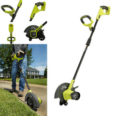 *NEW* Cordless Edger Ryobi 9 in. 18V Lithi-Ion Power Tool ONLY Lawn Grass Cutter