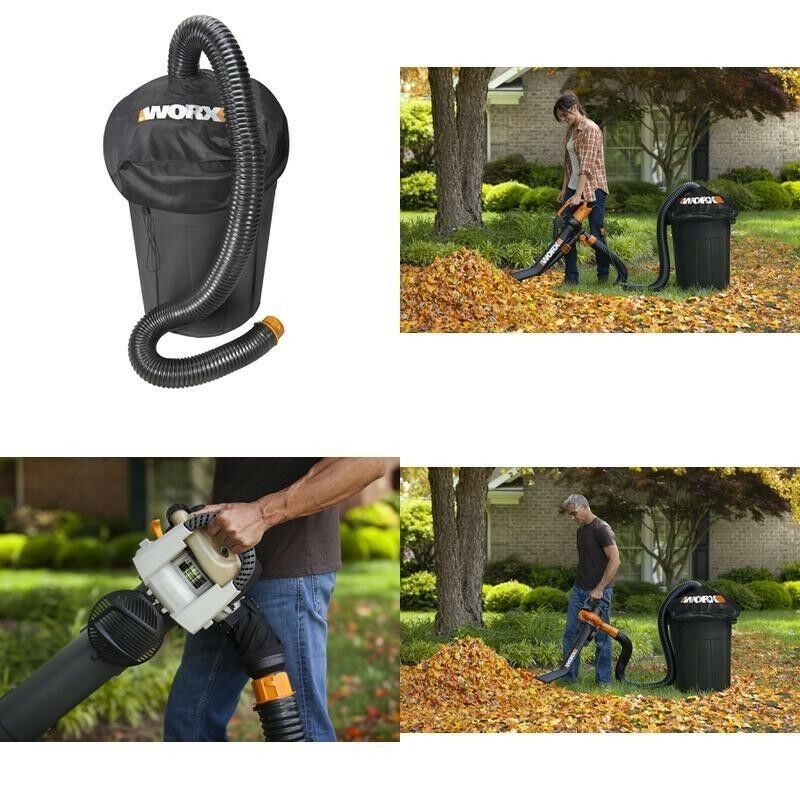 WORX WA4054.2 LeafPro Universal Leaf Collection System for All Major Blower/Vac