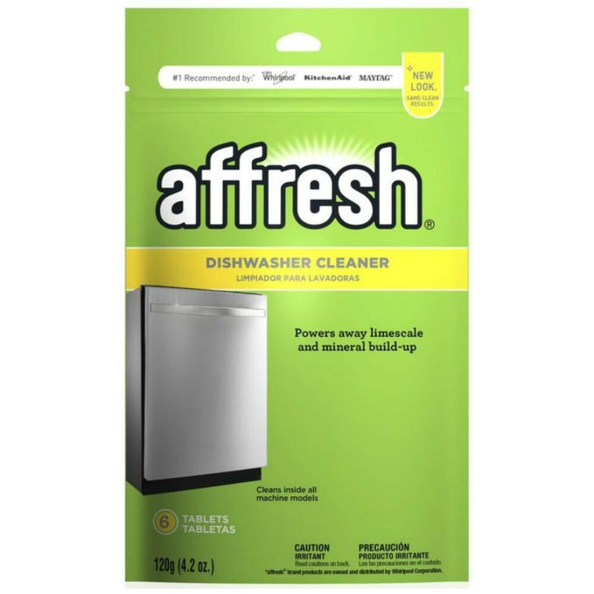 Dishwasher Kitchen Cleaner Tablet For Residue/Minerals Deodorizer By Affresh NEW