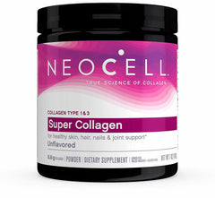 NEOCELL SUPER POWDER Collagen Type 13 Hair Snails Skin Joints Bones Nails 7 Oz