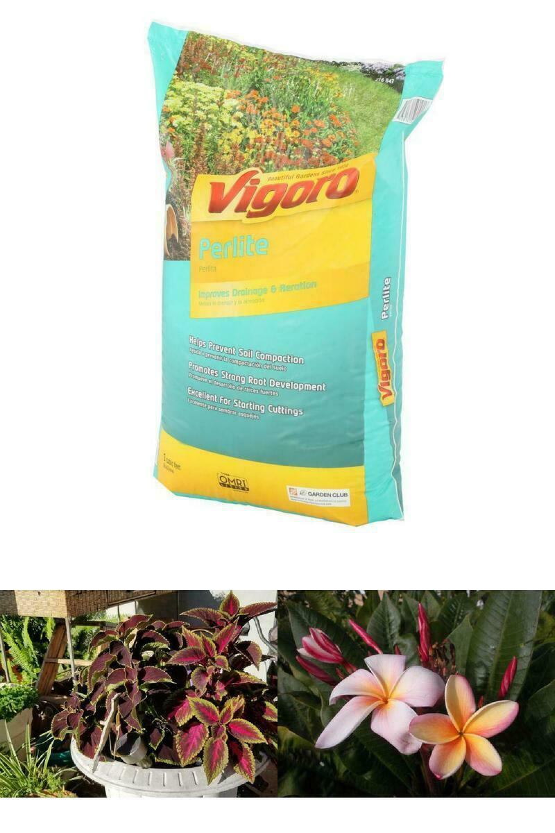 Organic Weed=Free Perlite Soil Amendment Garden Yard Care Improve Drainage NEW